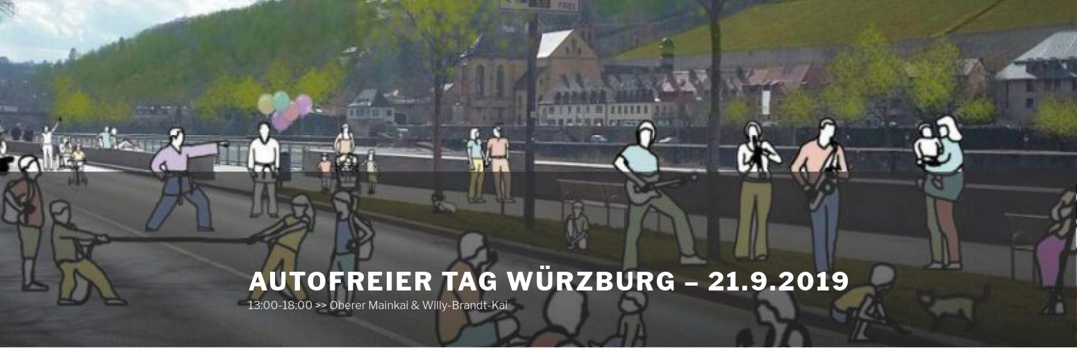 """Essens- und Infostand auf dem """"Autofreien Tag Würzburg"""" – 21.09.2019"""